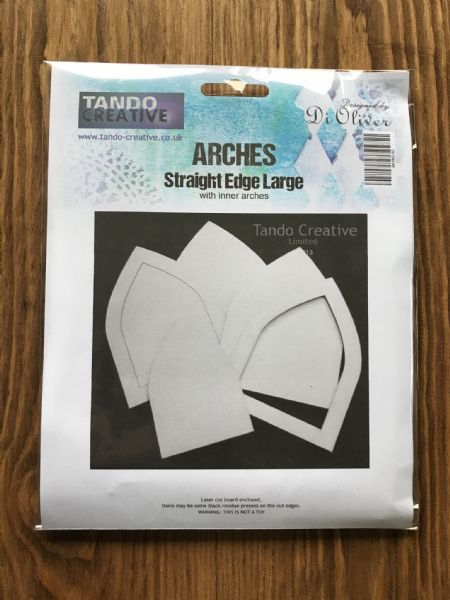 Tando Chipboard - Arches - Straight Edged - Large